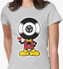 Vinyl Richie Womens Fitted T-Shirt