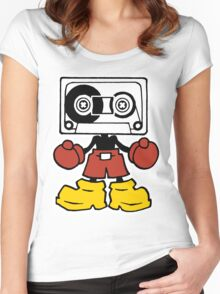 Mix-Tape Women's Fitted Scoop T-Shirt