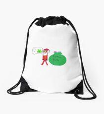 Santas Sack Drawstring Bag