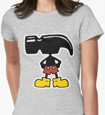 Hammer Hed Womens Fitted T-Shirt