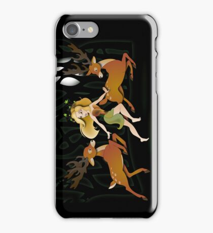Twisted Tales - Adina and the deer iPhone Case/Skin