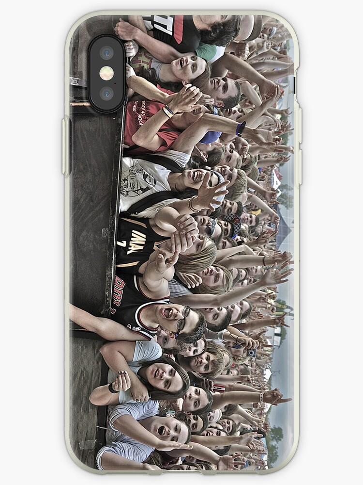 Crowd Case by Kyle Robish