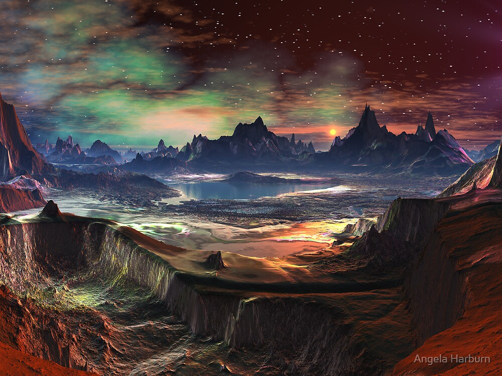 Firewalk Canyon by Angela Harburn