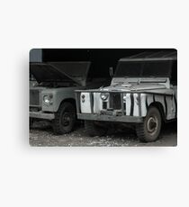 Trucks Canvas Print