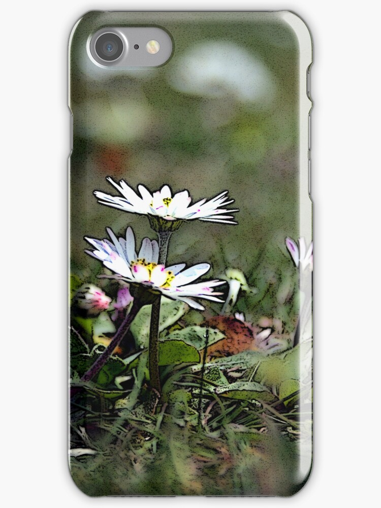 Flower Iphone case by juliweeeeee