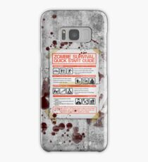 Zombie Survival - Quick Start Guide Samsung Galaxy Case/Skin