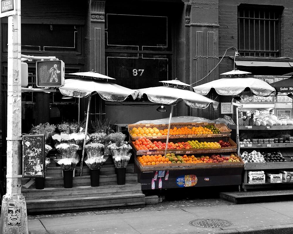 Soho Hand Polished Fruit by Ian Gilmour