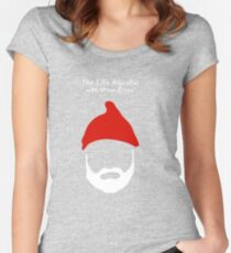 The Life Aquatic with Steve Zissou Women's Fitted Scoop T-Shirt