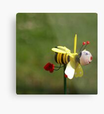 Don't worry, BEE happy Metal Print