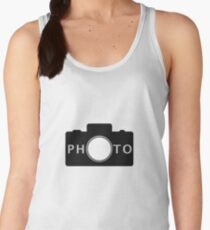 Photo camera Women's Tank Top