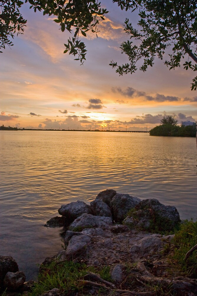 Sunset Over the Florida Keys by Ian Gilmour