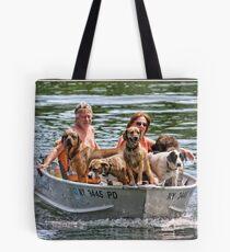 Dog Ferry Tote Bag