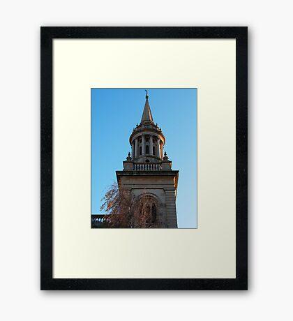 Oxford Church Spire Framed Print