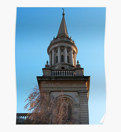 Oxford Church Spire Poster