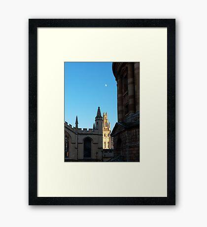 Radcliffe Camera Rotunda - Oxford Framed Print