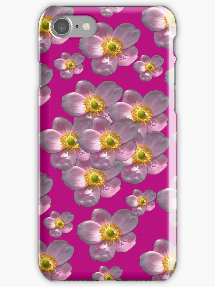 Flower Power Peony 03 iPhone Case by ManateesDesign