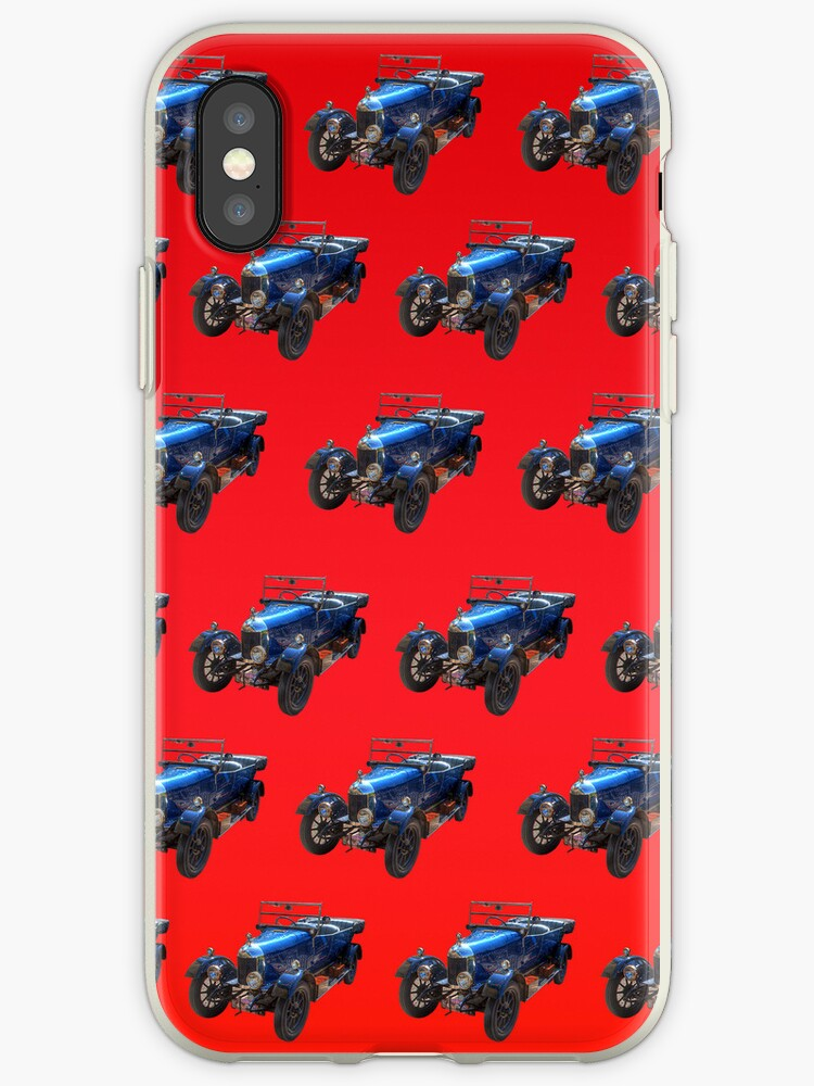 Classic Car 01 iPhone Case by ManateesDesign