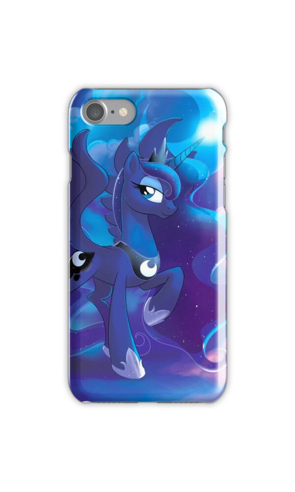 """""""Princess Luna"""" iPhone Cases & Skins by EchoesLight ..."""