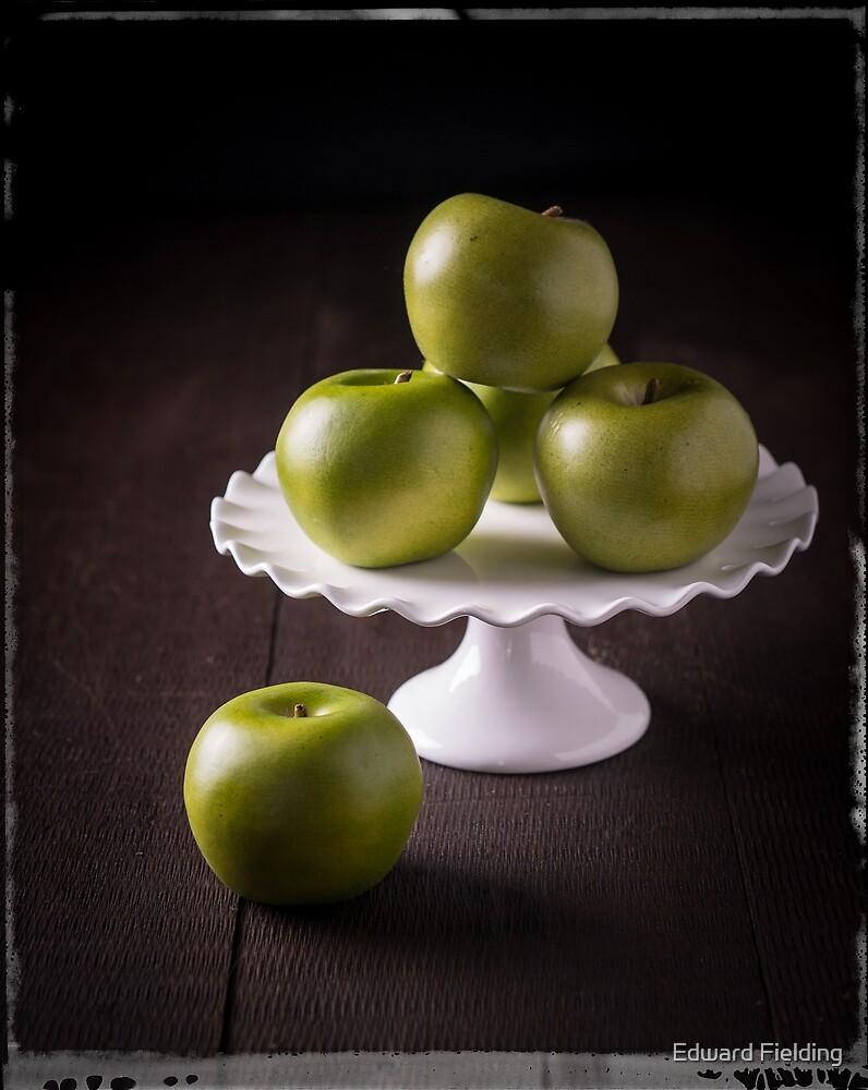 Green Apples by Edward Fielding