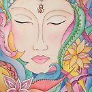 Spring Buddha  by Alison  Brown