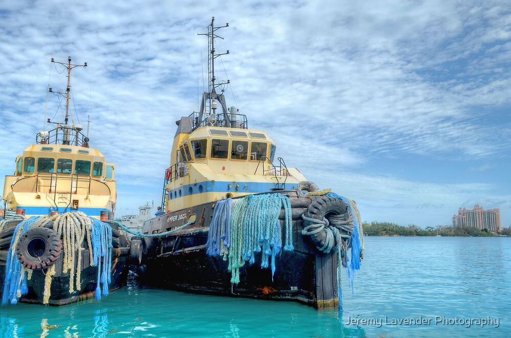 """Amber Jack"" & ""Snapper"" at Prince George Wharf in Nassau Harbour, The Bahamas by Jeremy Lavender Photography"