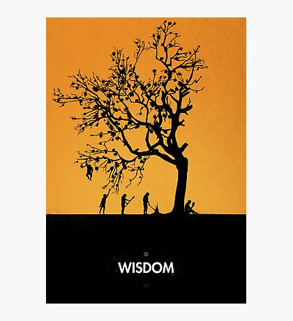 99 Steps of Progress - Wisdom Photographic Print