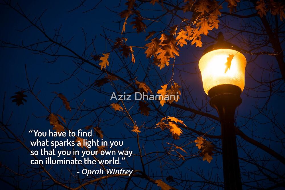 light within by Aziz Dhamani