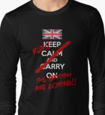 The British Are Coming! (white text) T-Shirt