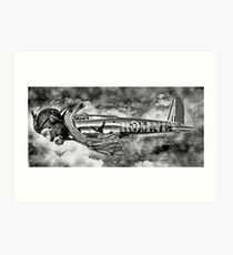 Is it a Bird is it a Plane No its Romney. Art Print