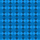 Blue Pattern by Matt Burgess