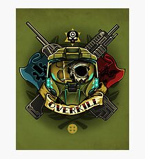 OVERKILL Photographic Print