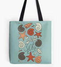Sea story Tote Bag