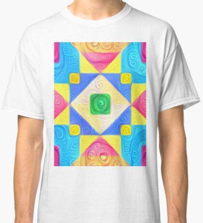 #DeepDream Color Squares Visual Areas 5x5K v1448181063 Classic T-Shirt