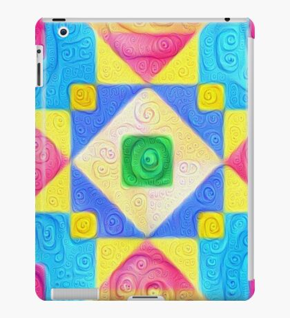#DeepDream Color Squares Visual Areas 5x5K v1448181063 iPad Case/Skin