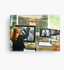 Shooting Rock n' Roll Canvas Print
