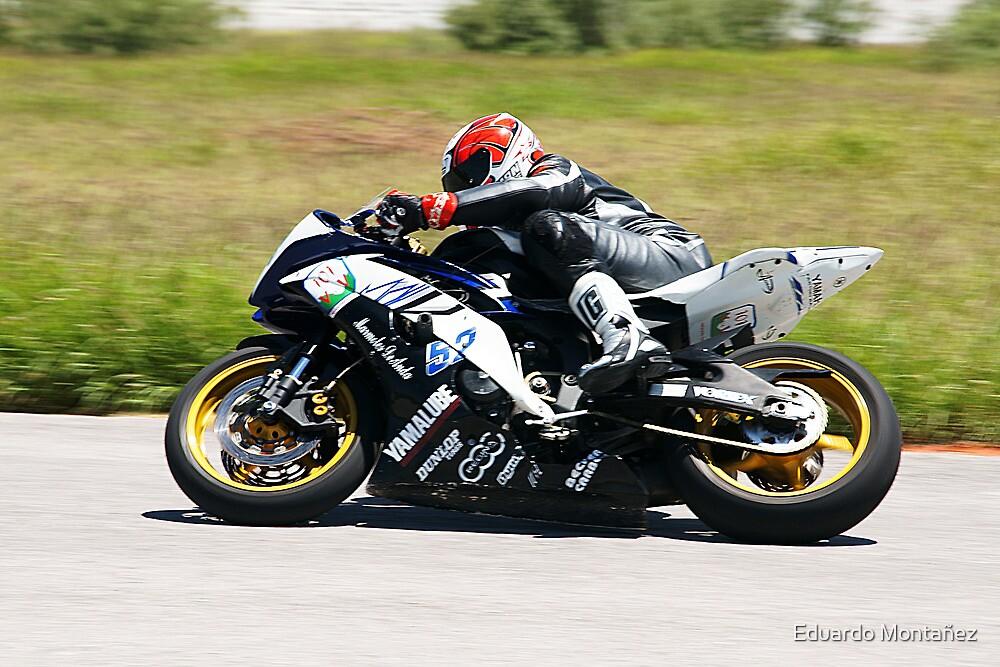 Racing superbike by Eduardo Montañez