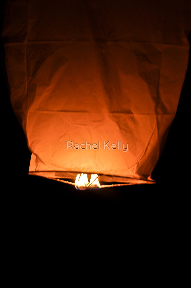 Fire lantern by Rachel Kelly