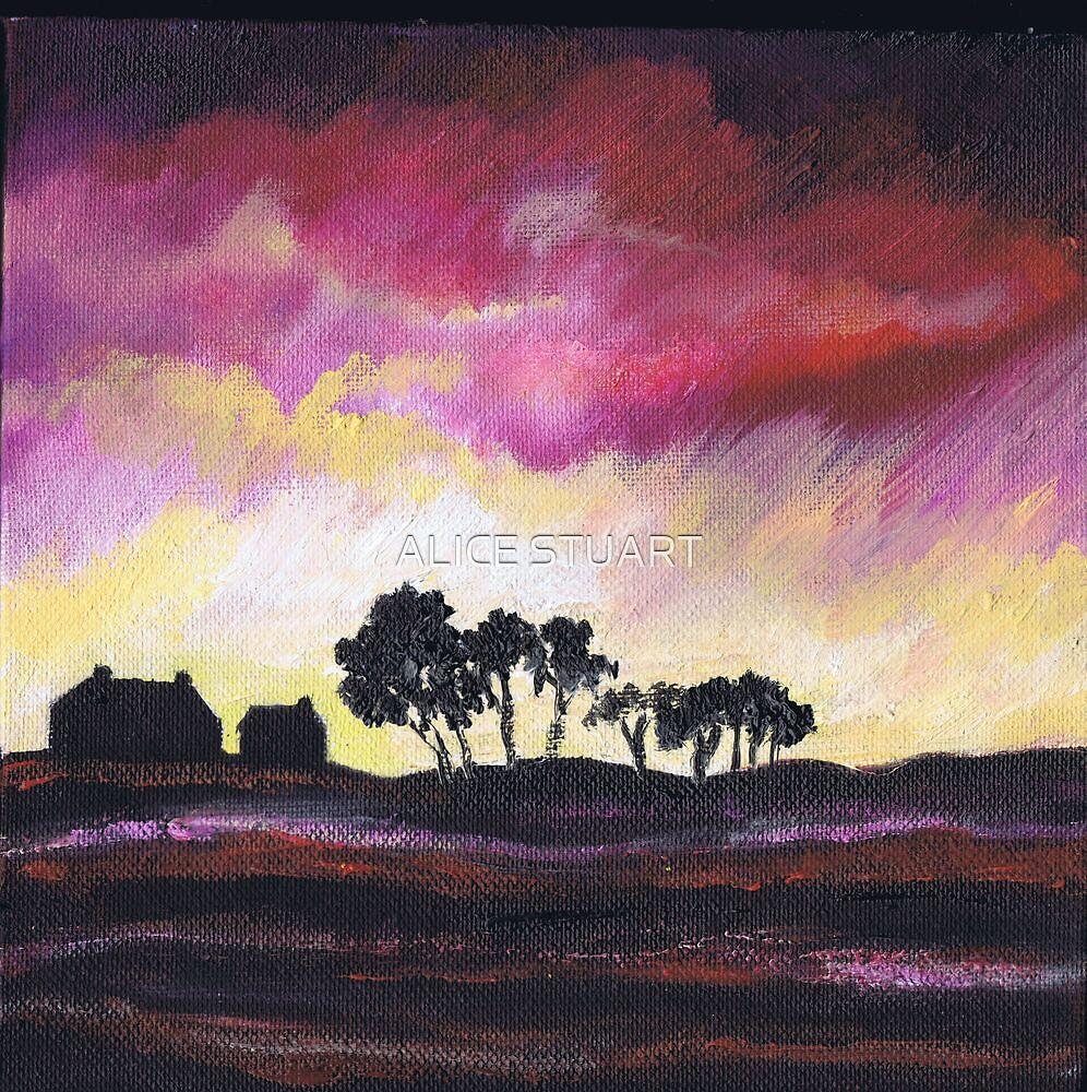 Nairn Sunset by ALICE STUART