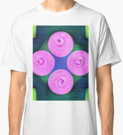 #DeepDream Color Squares Circles Visual Areas 5x5K v1448204645 Classic T-Shirt