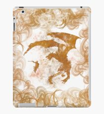 Dragonfight-cooltexture iPad Case/Skin