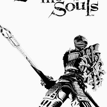 Demons Souls Shirt Design by darkestsoul