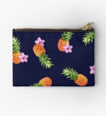 Pineapples and Flowers Studio Pouch