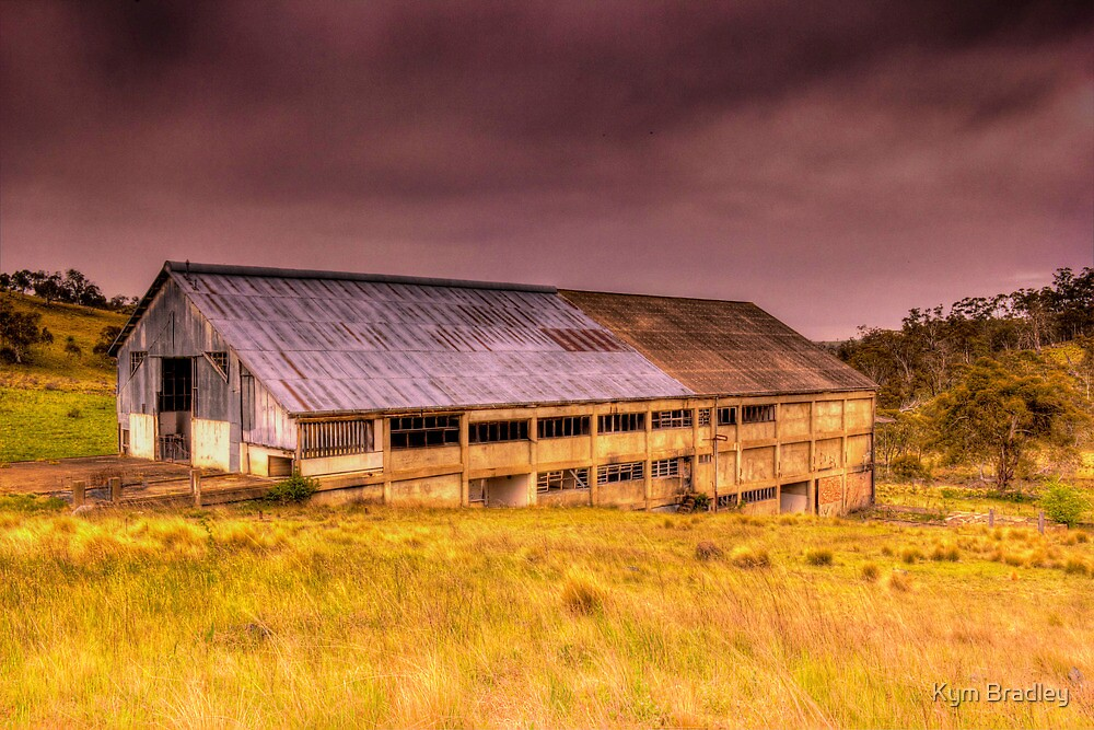 Maclaughlin Disused Abattoirs  Bombala NSW  by Kym Bradley