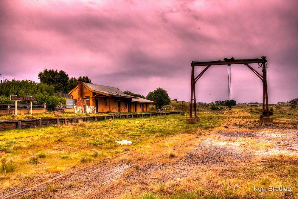 Nimmitabel railway station Rural NSW Australia  by Kym Bradley
