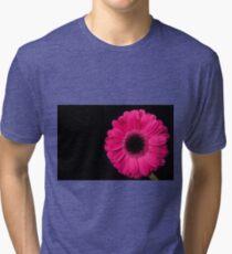 Pink Gerbera Tri-blend T-Shirt