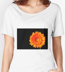 Orange Gerbera Women's Relaxed Fit T-Shirt