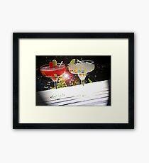 Beverage Flare Framed Print