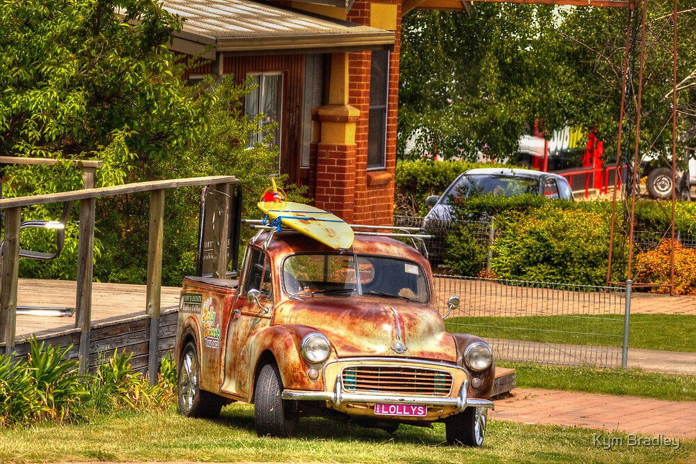 Morris with Lolly  Cooma NSW  by Kym Bradley