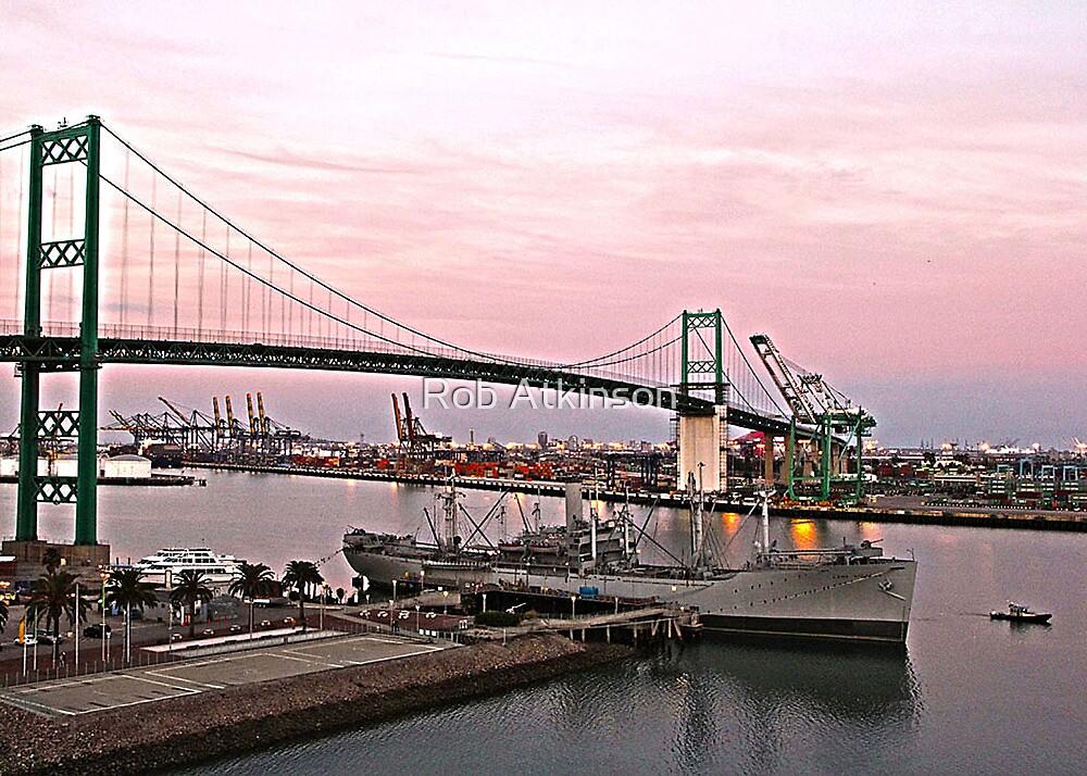 Port of LA by Rob Atkinson