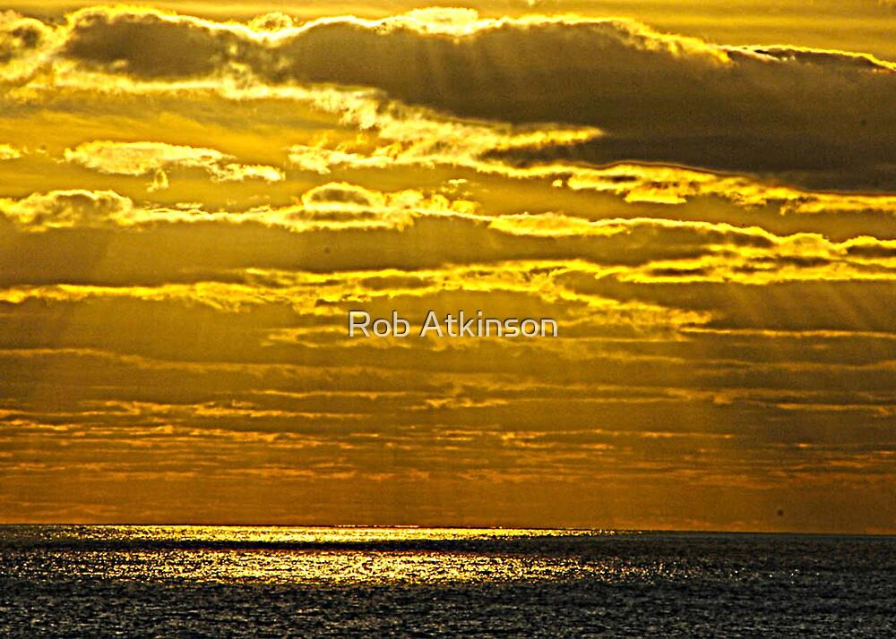 Yellow Rays by Rob Atkinson